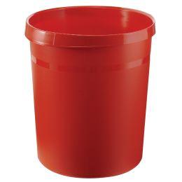 HAN Papierkorb GRIP, 18 Liter, rund, rot