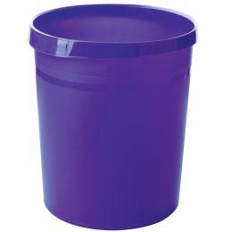 HAN Papierkorb GRIP Trend Colour, 18 Liter, rund, lila