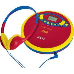 AEG Tragbarer CD-Player CDP 4228 Sing Along - für Kinder