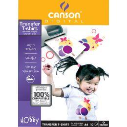 CANSON T-shirt InkJet-Transfer-Folie, 140 g/qm