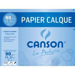 CANSON Zeichenpapier, satiniert, DIN A4, 90/95 g/qm