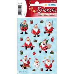 HERMA Weihnachts-Sticker DECOR Weihnachtsmann
