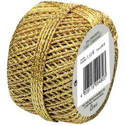 SUSY CARD Zierkordel Cordonnet, gold