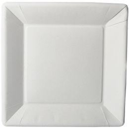 PAPSTAR Papp-Teller pure eckig, 225 x 225 x 18 mm, weiß