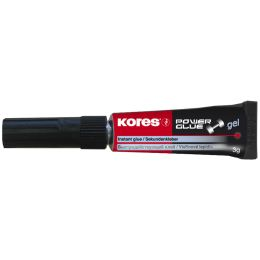 Kores Sekundenkleber POWERGLUE, 3 g, Tube