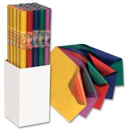 folia Geschenkpapier Bicolor, auf Rolle, Display
