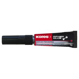 Kores Sekundenkleber POWERGLUE GEL, 3 g, Tube