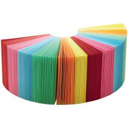 folia Zettelklotz / Notizklotz, 90 x 90 x 90 mm, farbig