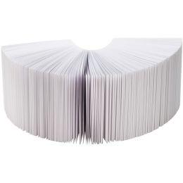 folia Zettelklotz / Notizklotz, 90 x 90 x 85 mm, weiß