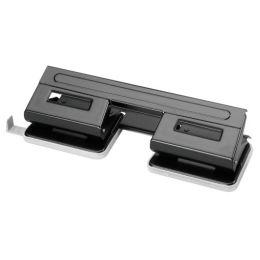herlitz Doppellocher, Stanzleistung: 17-18 Blatt, schwarz