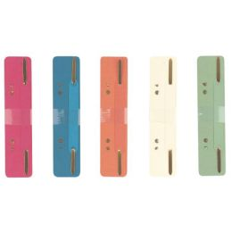 herlitz Heftstreifen 34 x 150 mm, RC-Karton, farbig sortiert