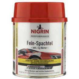 NIGRIN Performance Fein-Spachtel, 250 g, weiß