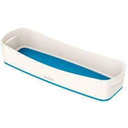 LEITZ Stifteschale My Box, DIN lang, weiß/blau