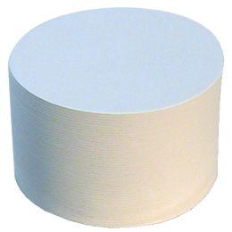 folia Blanko-Bierfilze, rund, Durchmesser: 107 mm