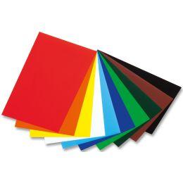 folia Glanzpapier, (B)350 x (L)500 mm, farbig sortiert
