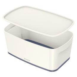 LEITZ Aufbewahrungsbox My Box, 5 Liter, weiß/grau