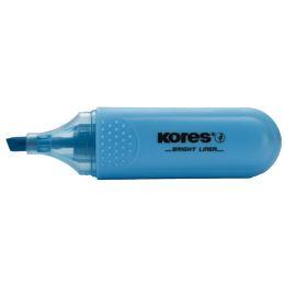 Kores Textmarker BRIGHT LINER, Farbe: blau