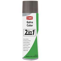 CRC GALVACOLOR 2in1 Schutzlack, schwarz, 500 ml Spraydose