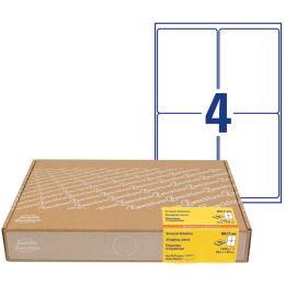 AVERY Zweckform Versand-Etiketten, 99,1 x 143,5 mm, weiß