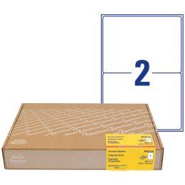 AVERY Zweckform Versand-Etiketten, 199,6 x 143,5 mm, weiß