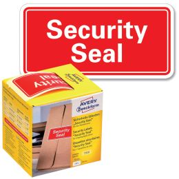 AVERY Zweckform Sicherheitssiegel Security Seal, 78x38 mm