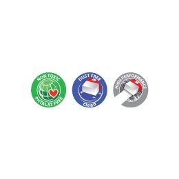 Kores Kunststoff-Radierer KE20, (B)60 x (T)21 x (H)10 mm