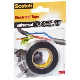 Scotch Isolierband universal, 15 mm x 10 m, schwarz
