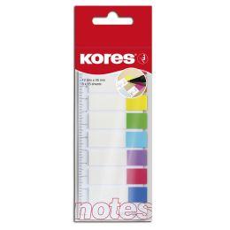 Kores Pagemarker - Folie, 12 x 45 mm, 8 x 15 Blatt