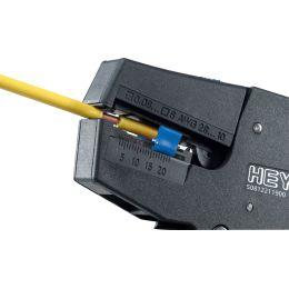 HEYTEC Automatische Abisolierzange, schwarz