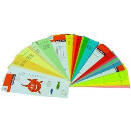 PAPYRUS Farbfächer Rainbow, 34 Seiten