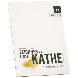 RÖMERTURM Künstlerblock ZEICHNEN & KÄTHE, DIN A5
