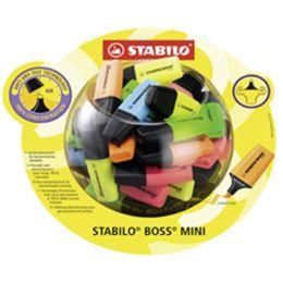 STABILO Textmarker BOSS MINI, 50er Display