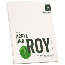RÖMERTURM Künstlerblock ACRYL UND ROY, 240 x 320 mm