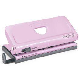 RAPESCO Mehrfachlocher für Terminplaner, rosa