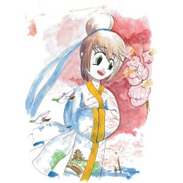 SAKURA Manga-Set Koi Coloring Brush, 6er Etui