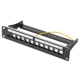 DIGITUS 10 Modular Patch Panel für Keystone Module, 12-Port