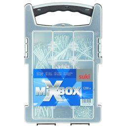 suki. Mixbox Nägel, 1.200 teilig