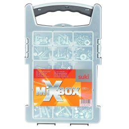 suki. Mixbox metrische Schrauben, 480 teilig