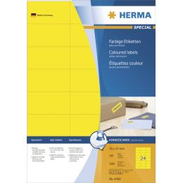 HERMA Universal-Etiketten SPECIAL, 105 x 42,3 mm, rot