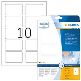 HERMA Namens-Etiketten SPECIAL, 80 x 50 mm, weiß