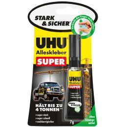 UHU Alleskleber SUPER, 7 g, auf Blisterkarte