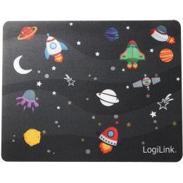 LogiLink Glimmer Maus Pad Little Planet