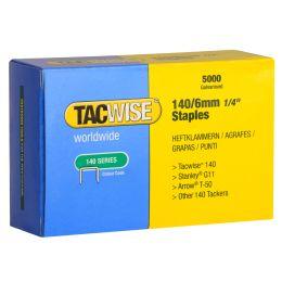 TACWISE Heftklammern 140/6 mm, verzinkt, 5.000 Stück