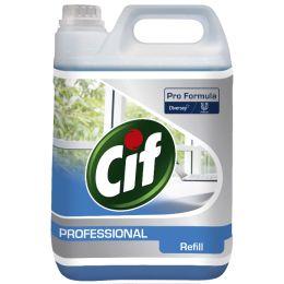 Cif Professional Oberflächenreiniger Glas & Fläche, 5 L
