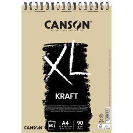 CANSON Skizzen- und Studienblock XL Kraft, DIN A5