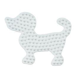 Hama Stiftplatte kleiner Hund, weiß