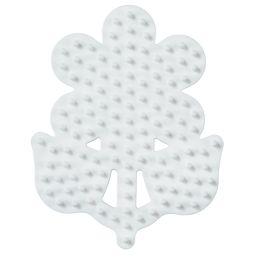 Hama Stiftplatte kleine Blume, weiß