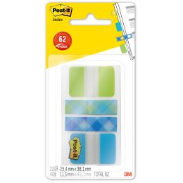 Post-it Haftmarker Index Strong und Mini, im Etui
