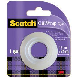 Scotch Geschenk-Klebefilm GiftWrap Tape, im Handabroller