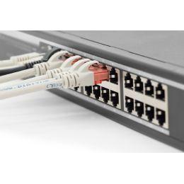 DIGITUS 19 Gigabit Ethernet Switch, 24 Port, Farbe: schwarz